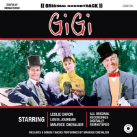 Gigi CD 1958 Original Film Soundtrack CD